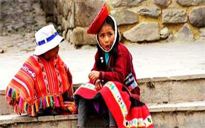 Ольянтайтамбо дети на улице