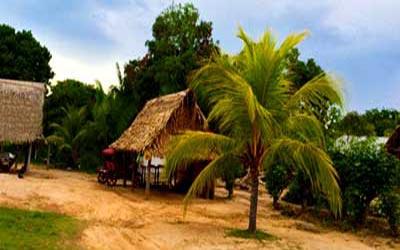 Перу деревня Пукальпа