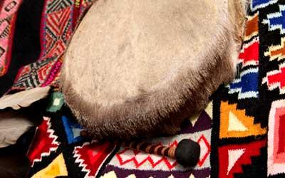 Бубен шамана Эквадор