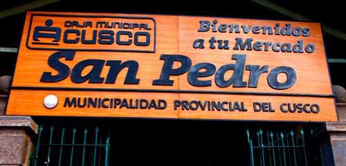 Куско рынок Сан Педро шаманские ряды