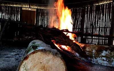 Огонь Аяхуаски у шуар