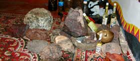 Метеориты на церемонии