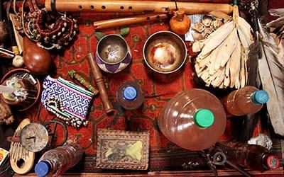 Стол шамана в Куско