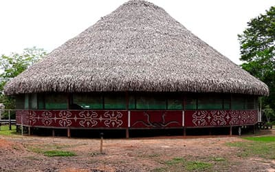 Малока в шаманском центре